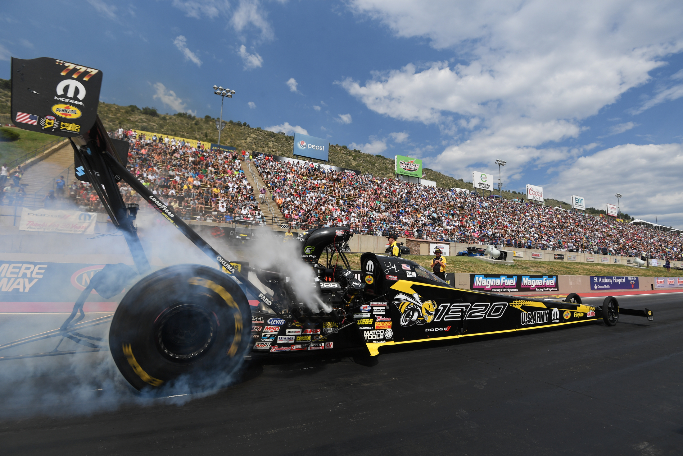 Dodge Mile-High NHRA Nationals Leah Pritchett Sunday Denver