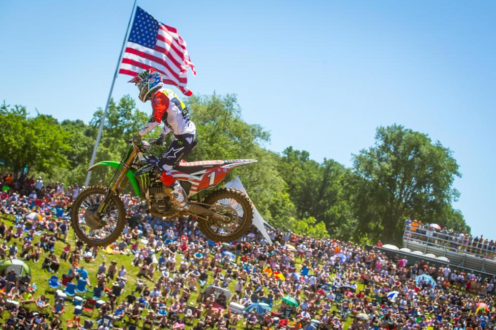 Eli Tomac finished 15th overall - RedBud