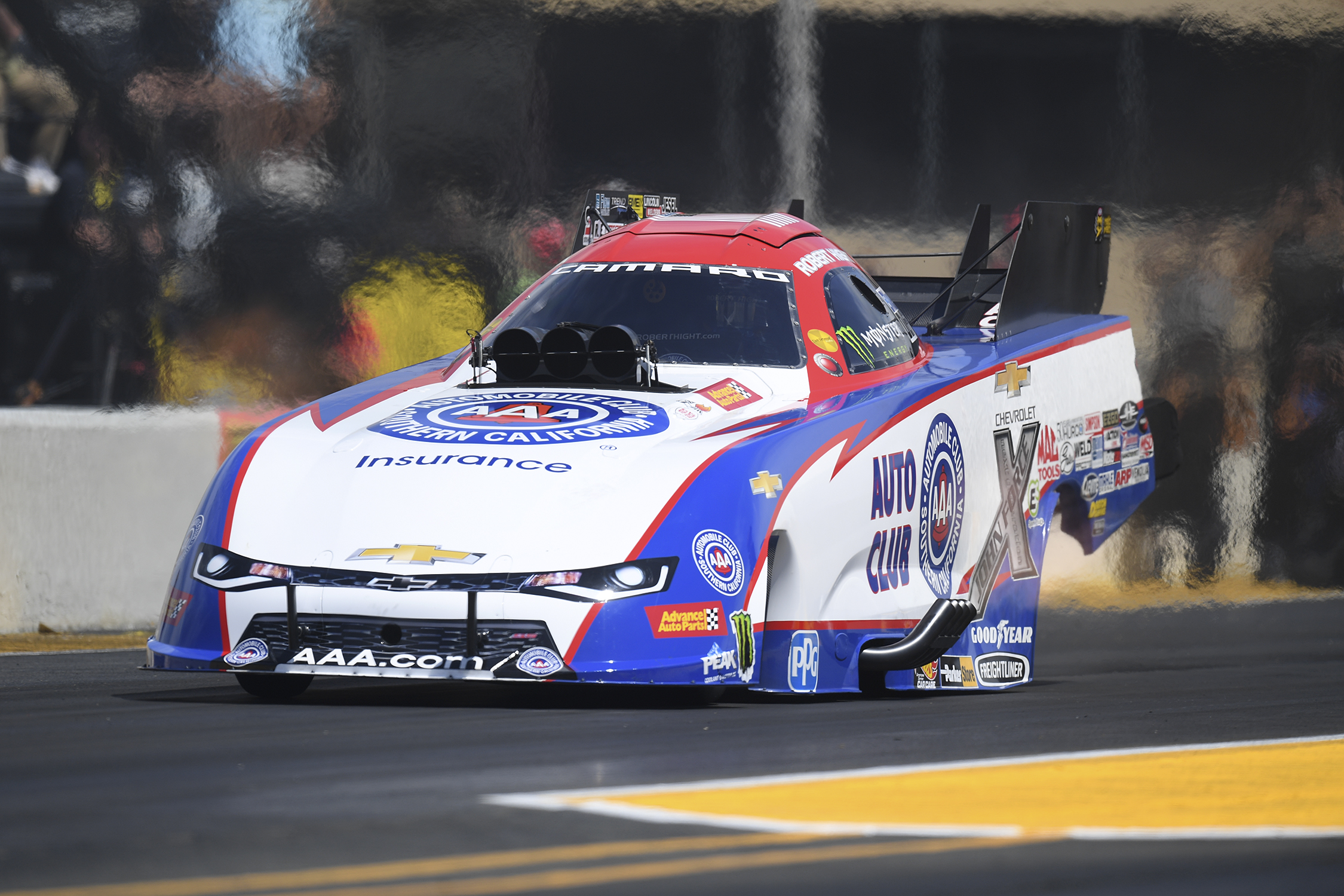 Funny Car Robert Hight Sunday Sonoma Raceway