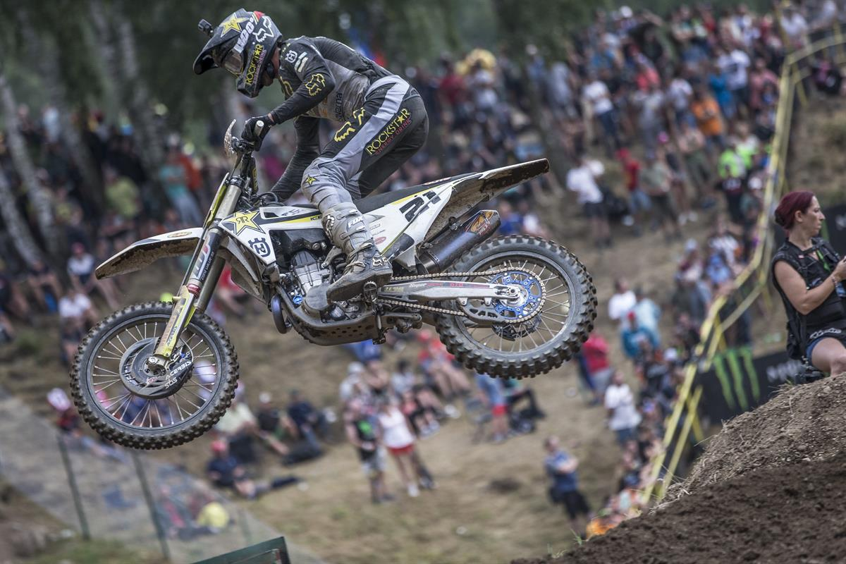 Gautier Paulin – Rockstar Energy Husqvarna Factory Racing - GP of Czech Republic