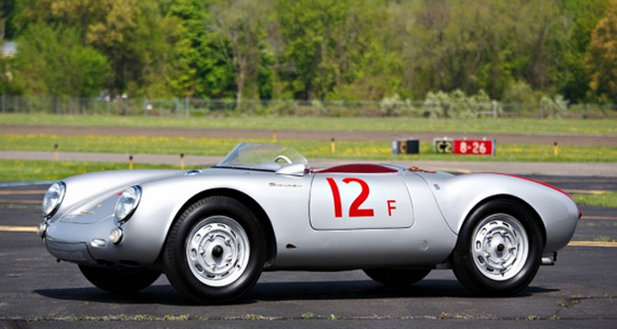 Gooding & Company - Pebble Beach - 1955 Porsche 550 Spyder