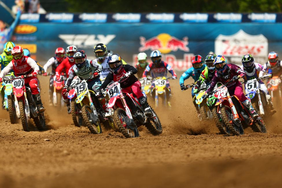 Spring Creek - Ken Roczen started strong both motos and finished second overall (2-3). - Jeff Kardas