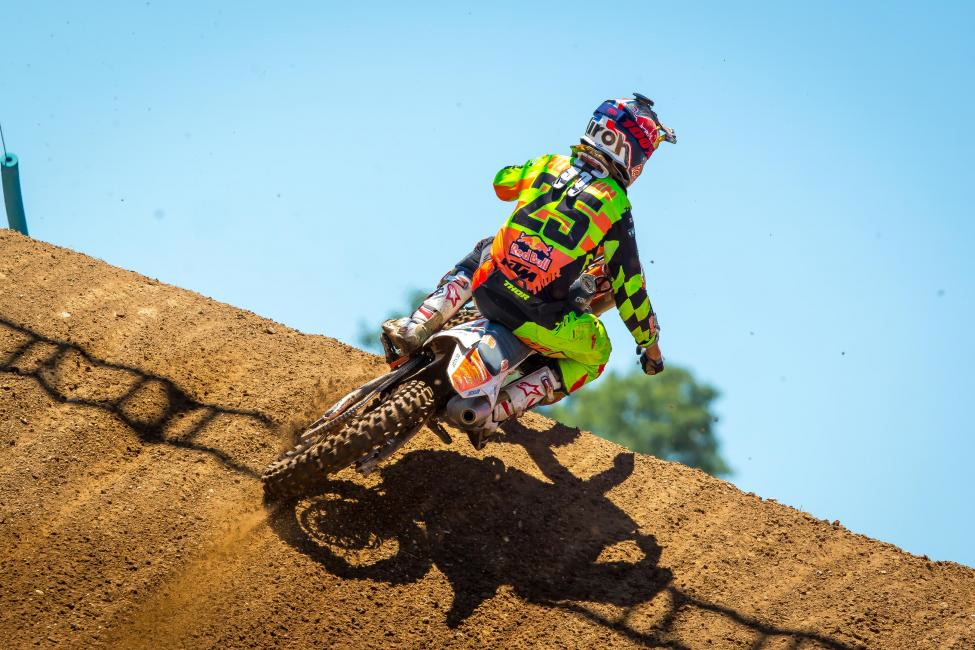 Marvin Musquin captured his second straight overall - Red Bud