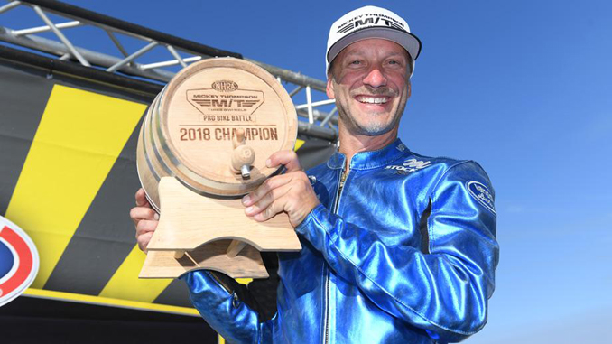 Matt Smith earns first Mickey Thompson Pro Bike Battle crown