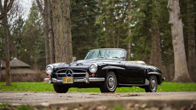 Mecum Auctions Harrisburg - 1959 Mercedes-Benz 190SL Roadster 1.9L 4-Speed (Lot S108)