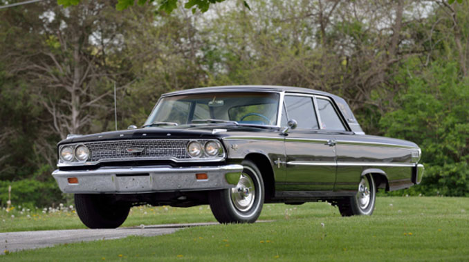 Mecum Auctions Harrisburg - 1963 Ford Galaxie 500 406-405 HP 4-Speed (Lot F63)