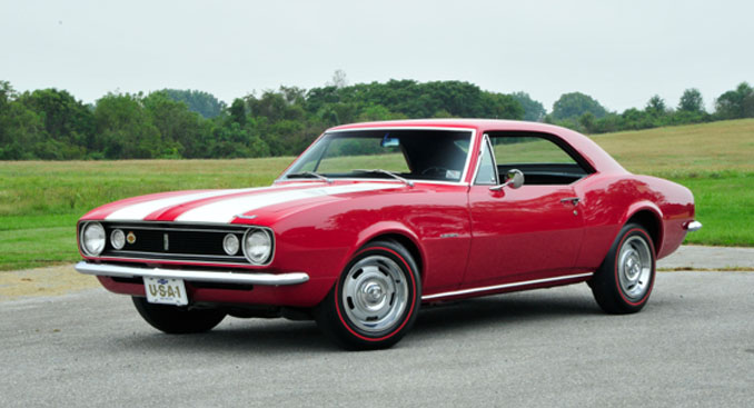 Mecum Auctions Harrisburg - 1967 Chevrolet Camaro Z28 302-290 HP 4-Speed Rare Bench Seat (Lot S98)