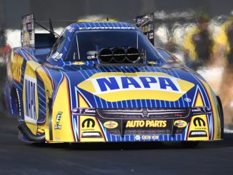 NHRA Funny Car Ron Capps - action