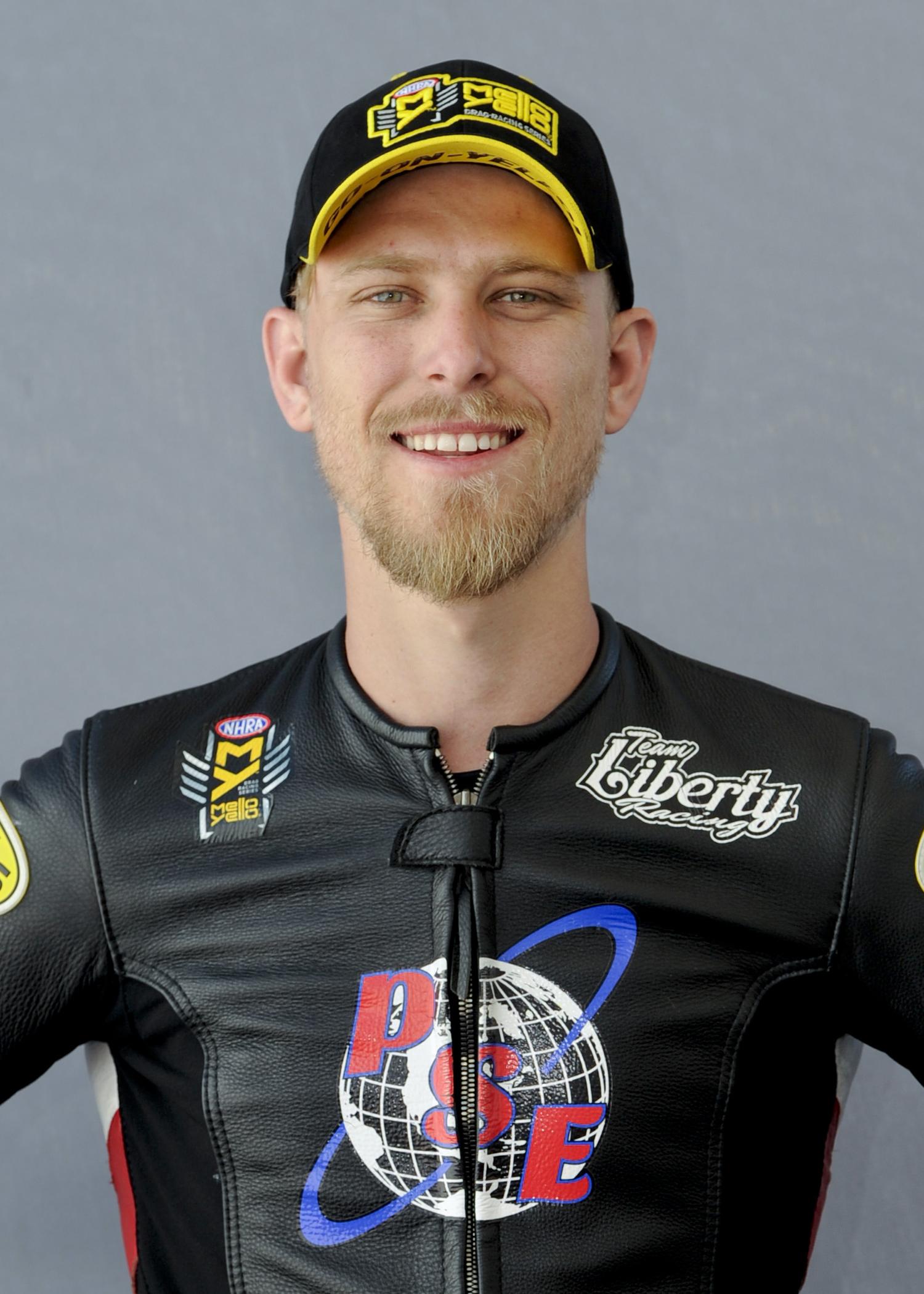NHRA Pro Stock Motorcycle Cory Reed