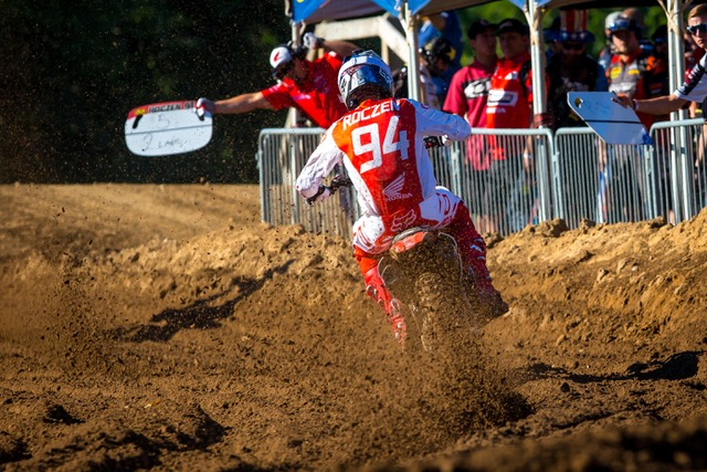 Ken Roczen Scores Moto 1 Victory En Route to Second Overall at RedBud National