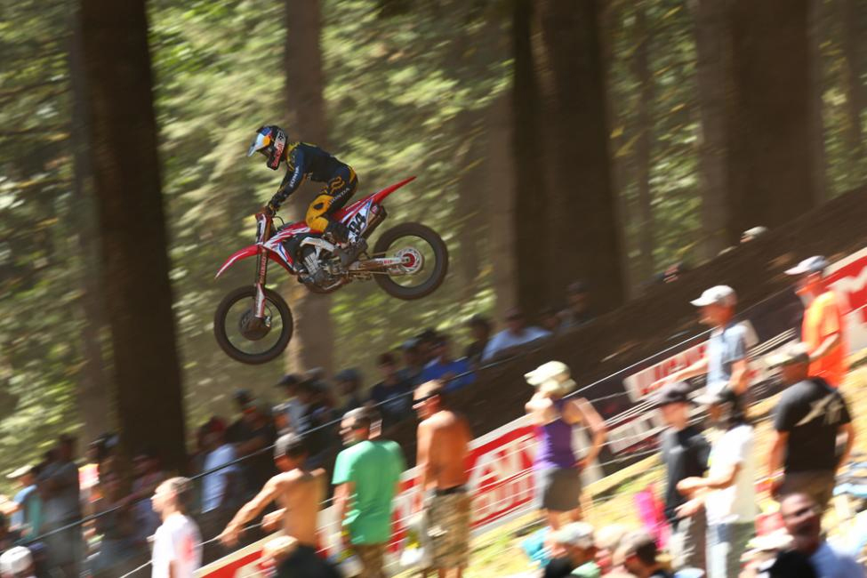 Roczen finished in the runner-up spot for the third straight race. - Washougal National