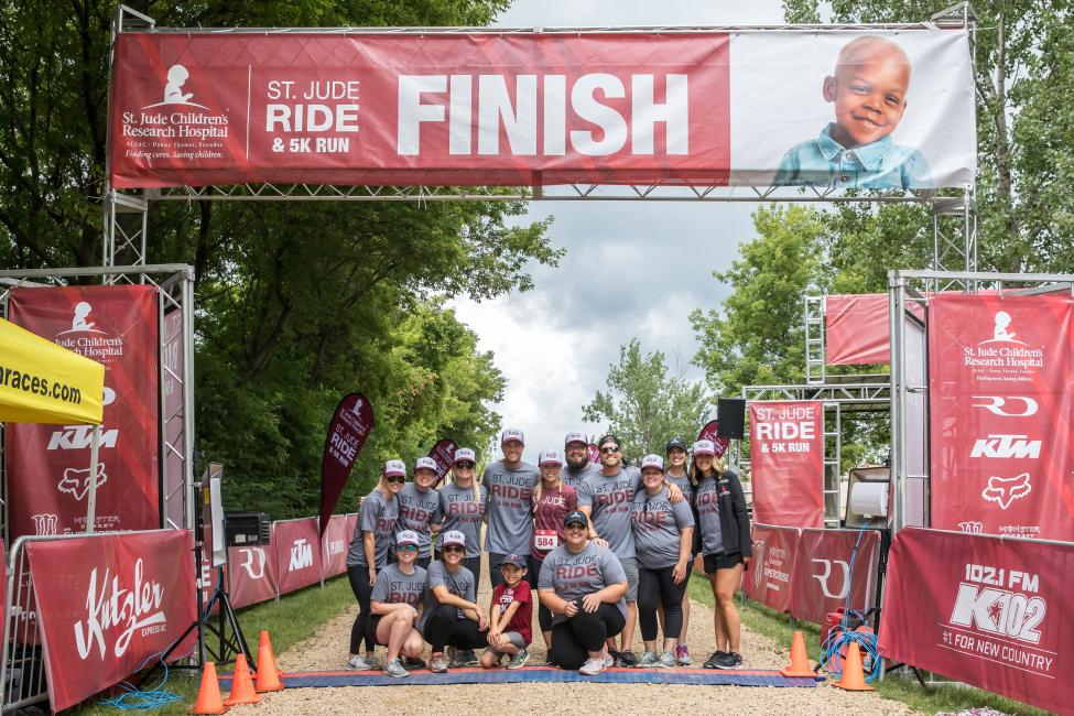 Ryan will be hosting his annual St. Jude Ride & 5K Run one week after the Spring Creek National