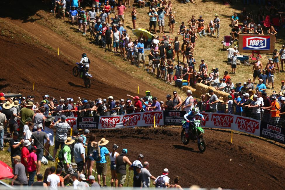 Savatgy's resilient final moto helped land him on the overall podium. - Washougal National