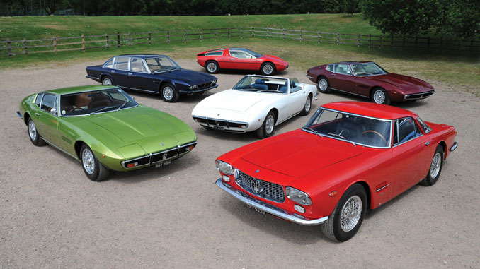 Six-Car Maserati Collection set for RM Sotheby's London Auction