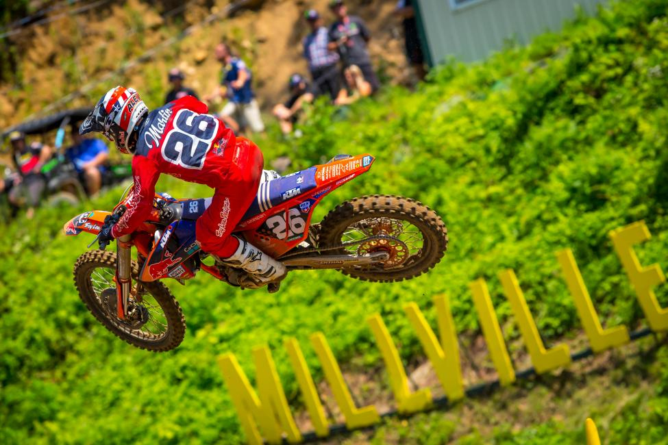 Spring Creek - Alex Martin overcame a challenging first moto to finish third overall (7-2)