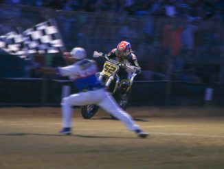 Texter Makes History at Lima Half-Mile