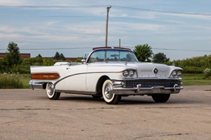 "The 1958 Buick ""Wells Fargo"" Convertible offered from the Duffy Grove Collection at Auburn Fall (Credit – © 2018 Courtesy of RM Auctions)"