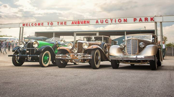 The Auburn Cord and Duesenberg trio offered from the Richard L. Burdick Collection