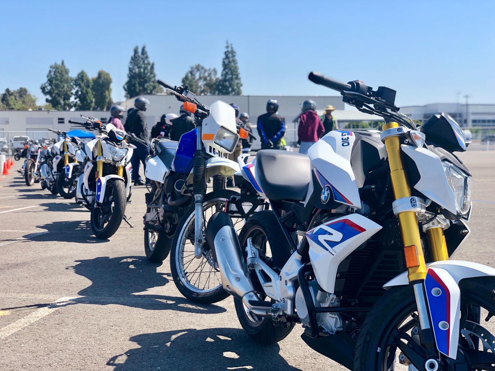 The BMW G 310 R has been added to Westside Motorcycle Academy's fleet of training motorcycles