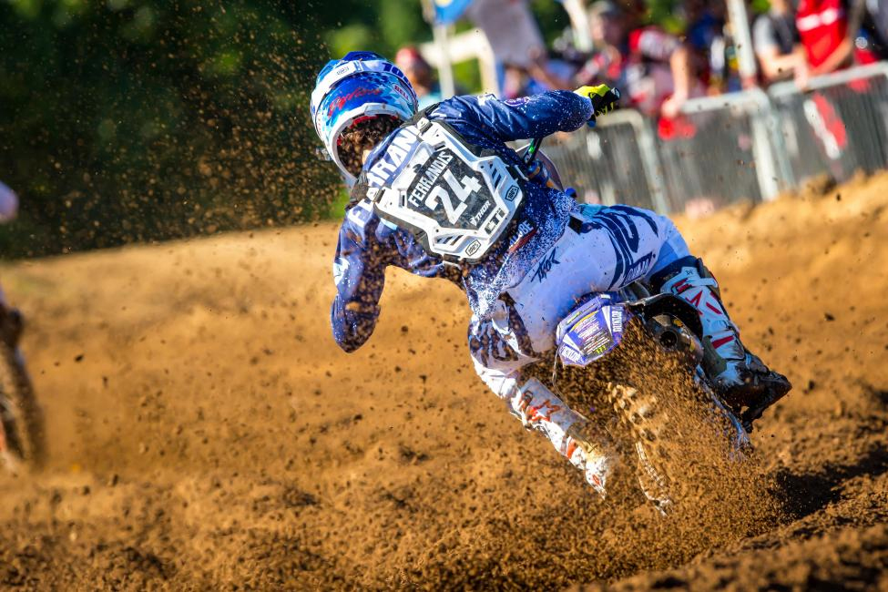 The strong riding continued for Dylan Ferrandis as he finished third overall - RedBud