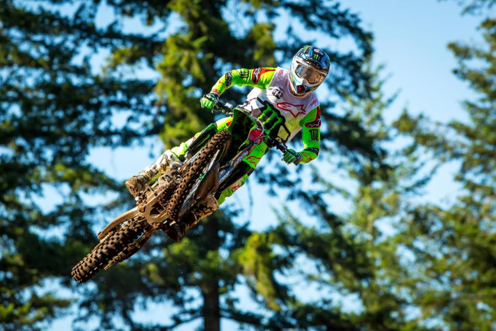Tomac raced to his seventh win of the season - Washougal National