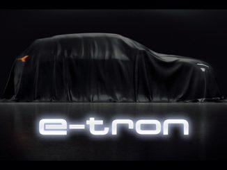 Veiled Audi e-tron