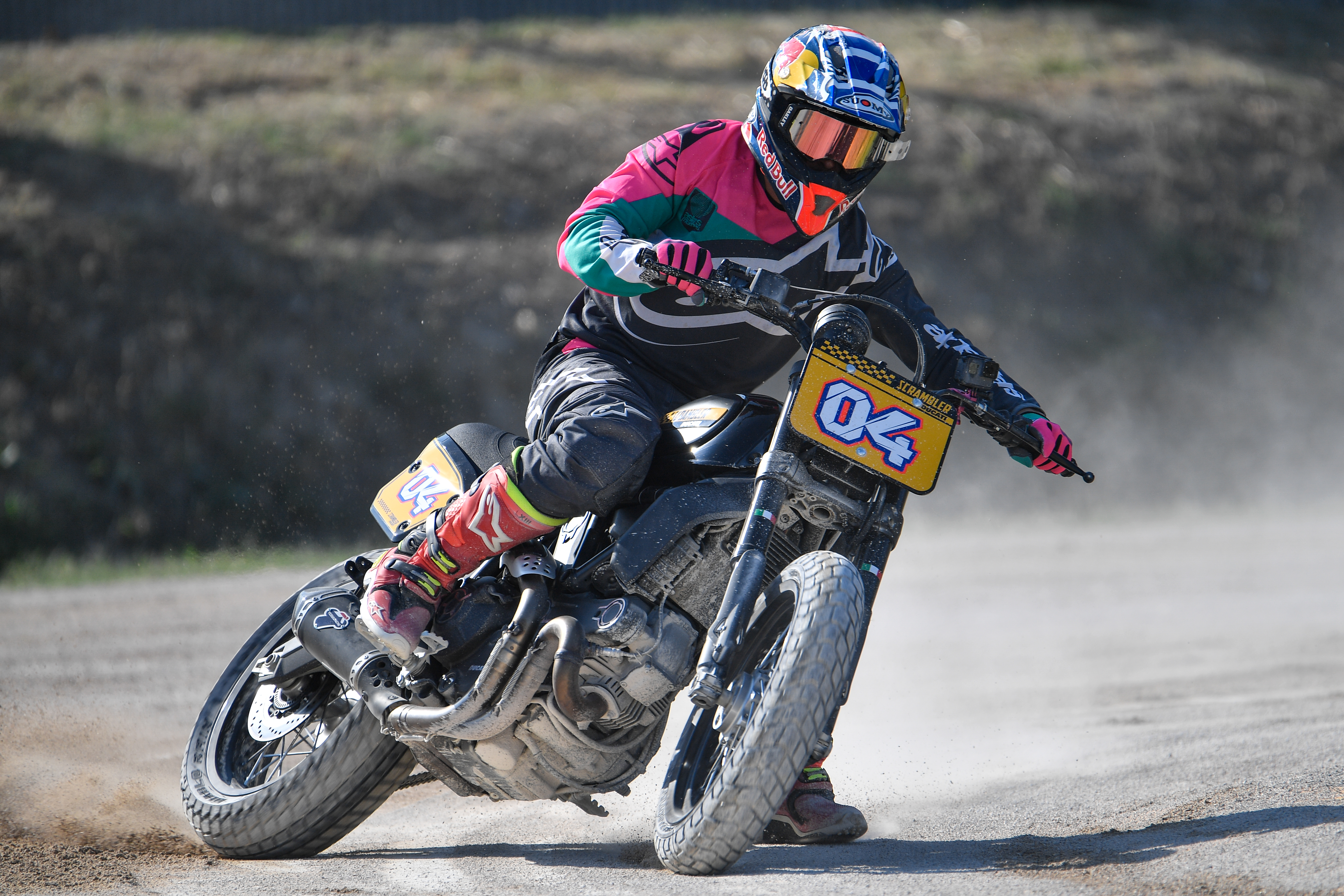 WDW2018 Scrambler - Flat Track Race