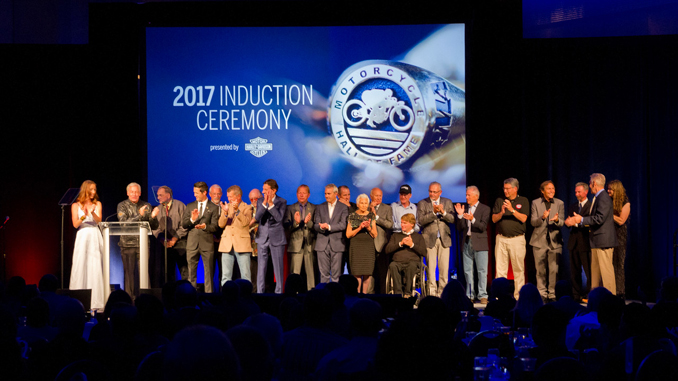 2017 AMA Motorcycle Hall of Fame Induction Ceremony (credit- Jeff Guciardo_AMA)