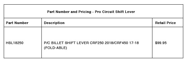 Pro Circuit Part-Number-Pricing-R-1