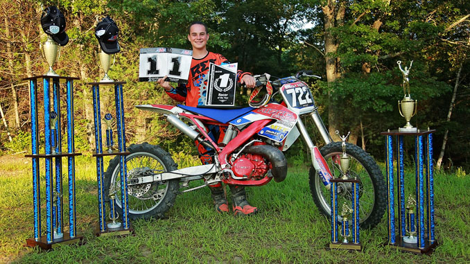 2018 AMA Hillclimb Racer of the Year Brock Riffe (credit- Brie Morrissey)