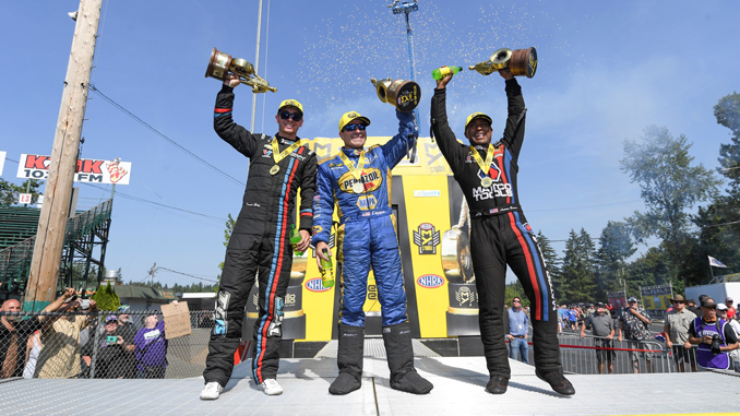 CatSpot NHRA Northwest Nationals - Winners Circle Sunday Seattle
