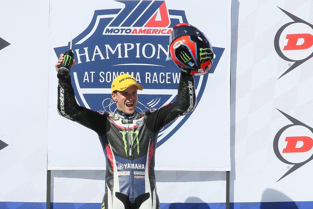MotoAmerica Motul Superbike Championship points leader Cameron Beaubier - Sonoma