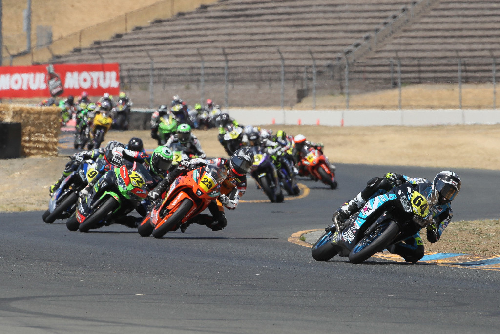 Cory Ventura won his first Liqui Moly Junior Cup race of the season at Sonoma Raceway