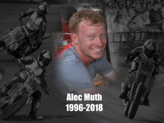 Statement from AMA Pro Racing on the loss of American Flat Track competitor Alec Muth