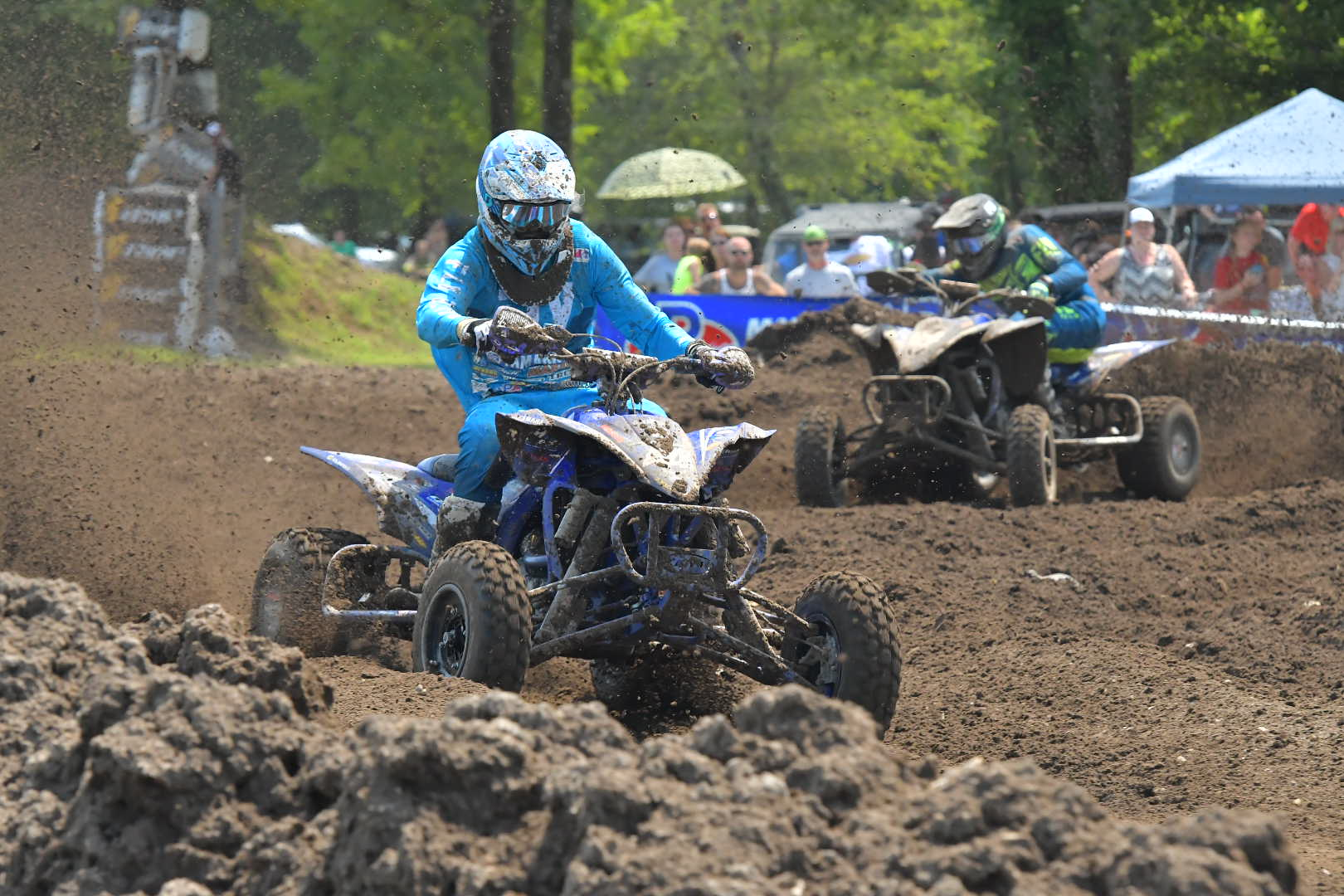 Wienen bested the competition with Yamaha's race-proven YFZ450R sport ATV