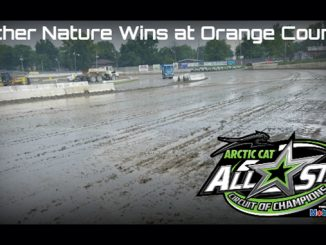Mother Nature wins at Orange County Fair Speedway - All Star Circuit of Champions