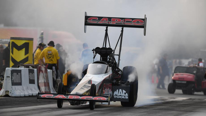 No.1 Top Fuel Qualifier Billy Torrence - Lucas Oil NHRA Nationals