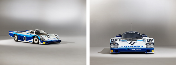 1983 Porsche 956 Group C (Matthew Howell © 2018 Courtesy of RM Sotheby's