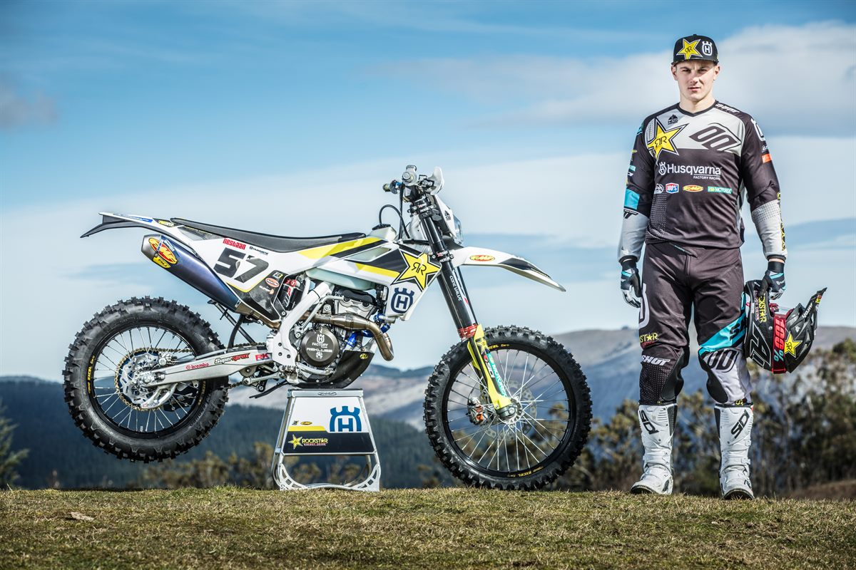 Rockstar Energy Husqvarna Factory Racing - enduro star Billy Bolt - #57