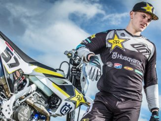 Rockstar Energy Husqvarna Factory Racing - enduro star Billy Bolt