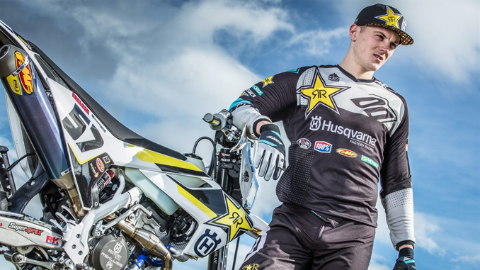 Rockstar Energy Husqvarna Factory Racing - enduro star Billy Bolt