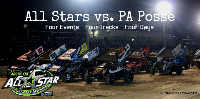 All Stars will challenge PA Posse four consecutive nights beginning Thursday at Grandview