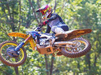 Chad Reed on the Autotrader-Yoshimura-Suzuki Factory Racing