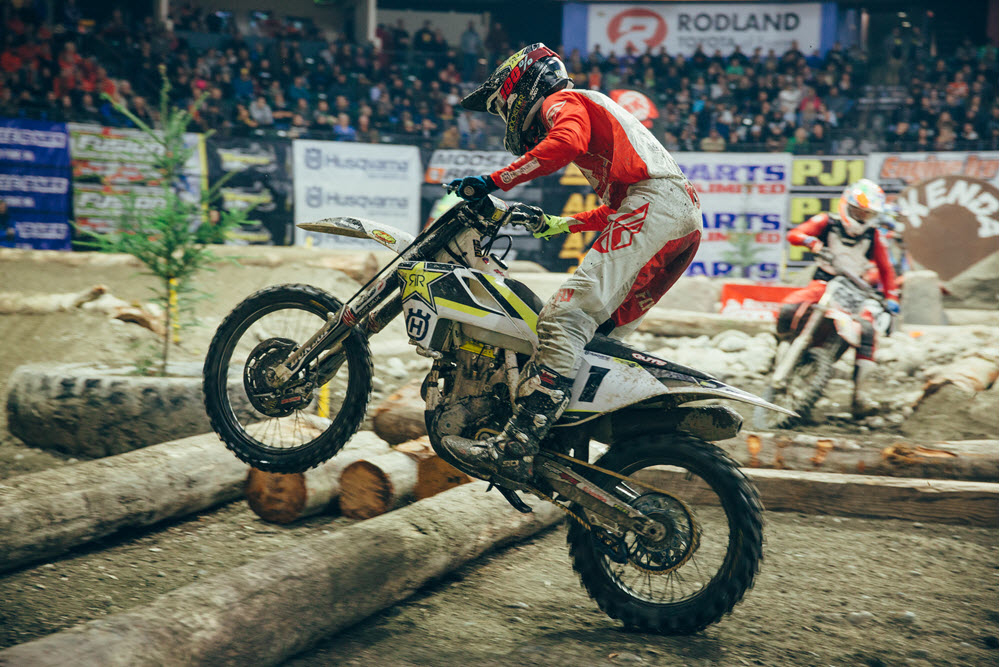 Colton Haaker will be back looking to reclaim the number one place in 2018 EnduroCross