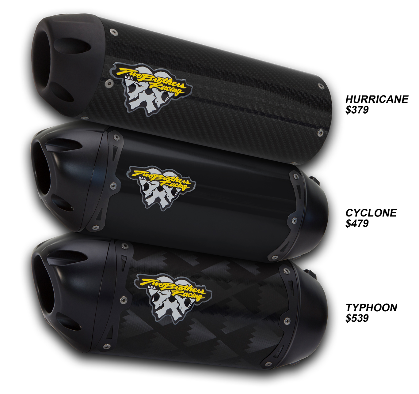 Two Brothers Racing - The Storm Series Mufflers