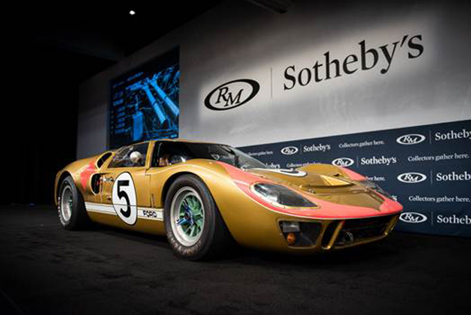 1966 Ford GT40 Mk II at RM Sotheby's Monterey