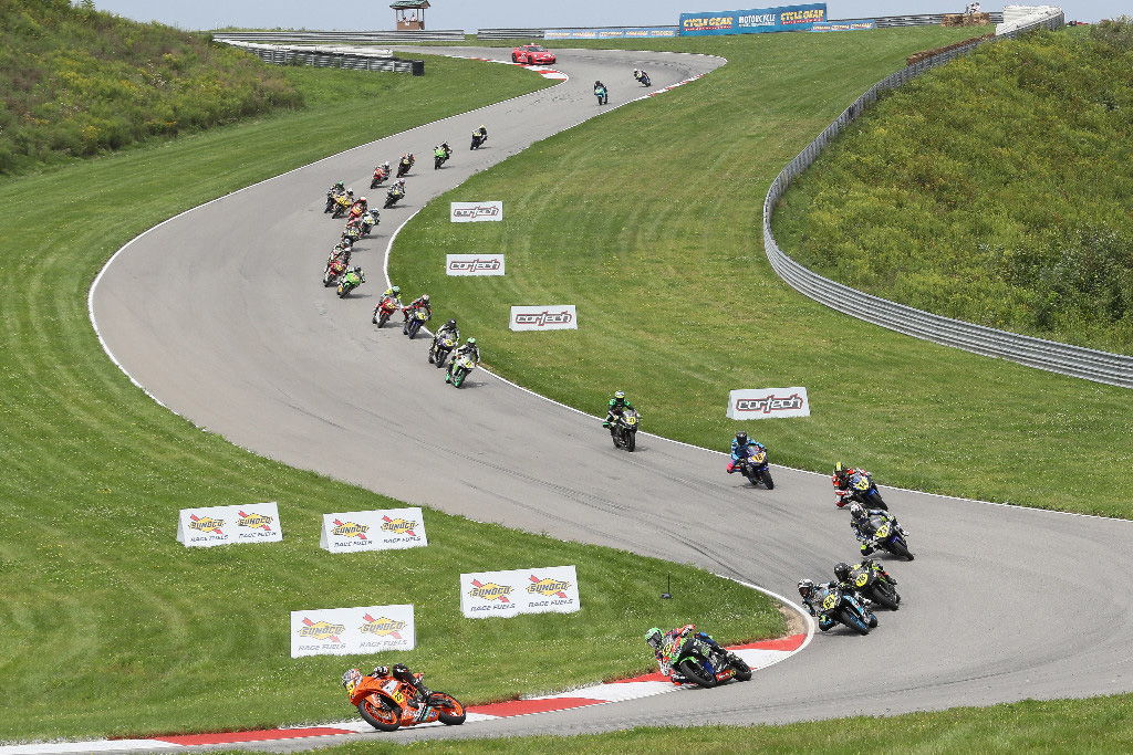 Championship of Pittsburgh - Alex Dumas won the Liqui Moly Junior Cup at the scenic Pittsburgh International Race Complex