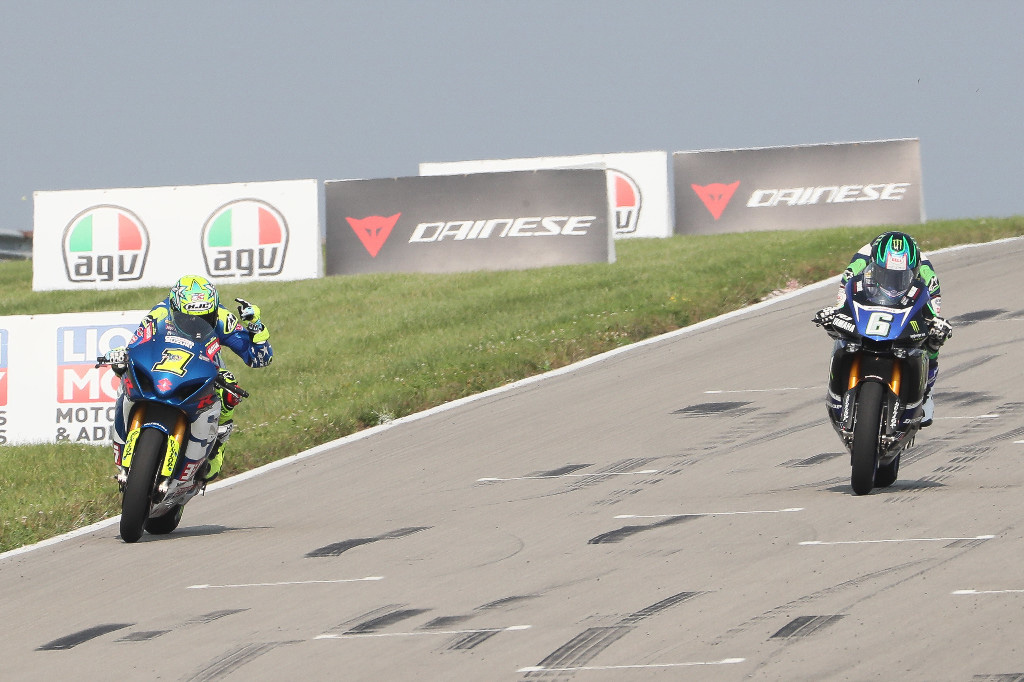 Elias beat Beaubier to the finish line by just .046 of a second