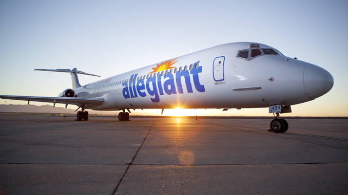 Allegiant Named Official Airline of NHRA Mello Yello Drag Racing Series