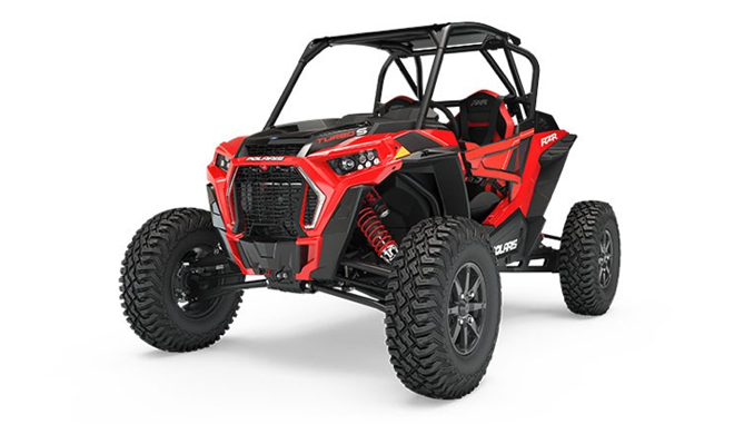 Polaris Recall RZR Turbo S in Indy Red